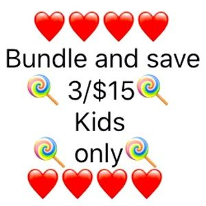 🍭3/$15🍭 only on listed 🍭 items